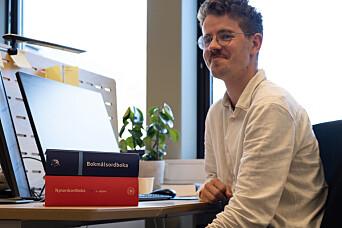 Mikkel Ekeland Paulsen er stipendiat i Revisjonsprosjektet og forskar på samansette ord