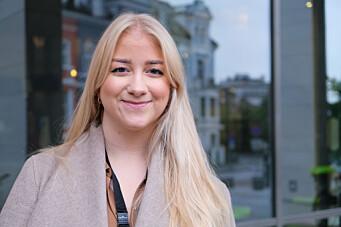 Sandra Amalie Lund Krumsvik, leder for Studentparlamentet.