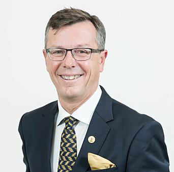 Tidligere rektor Dag Rune Olsen
