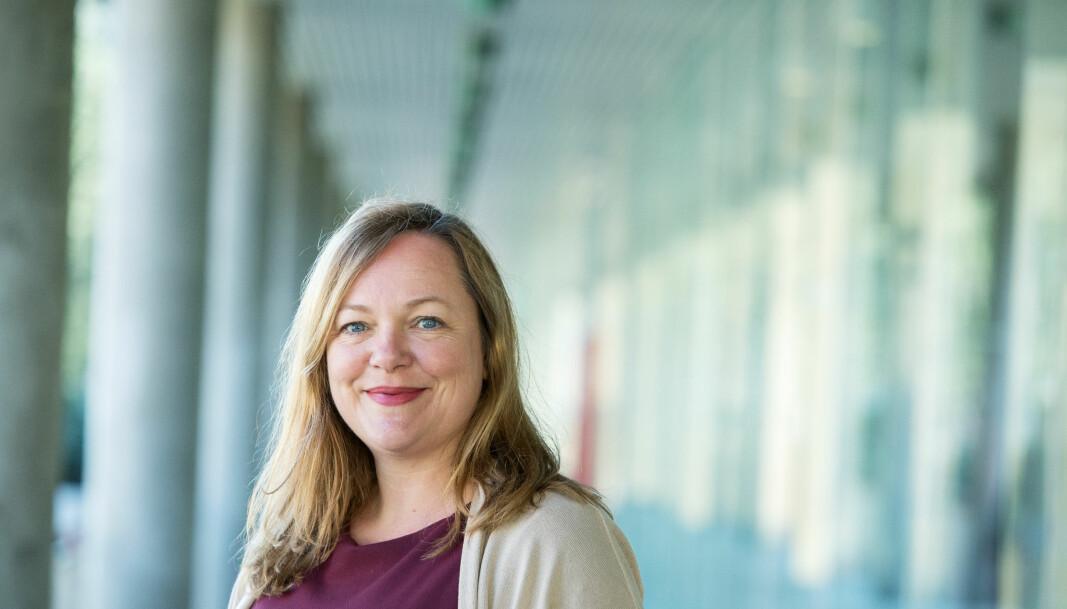 Christine M. Jacobsen har hatt utfordrende dager som forsker under koronapandemien.