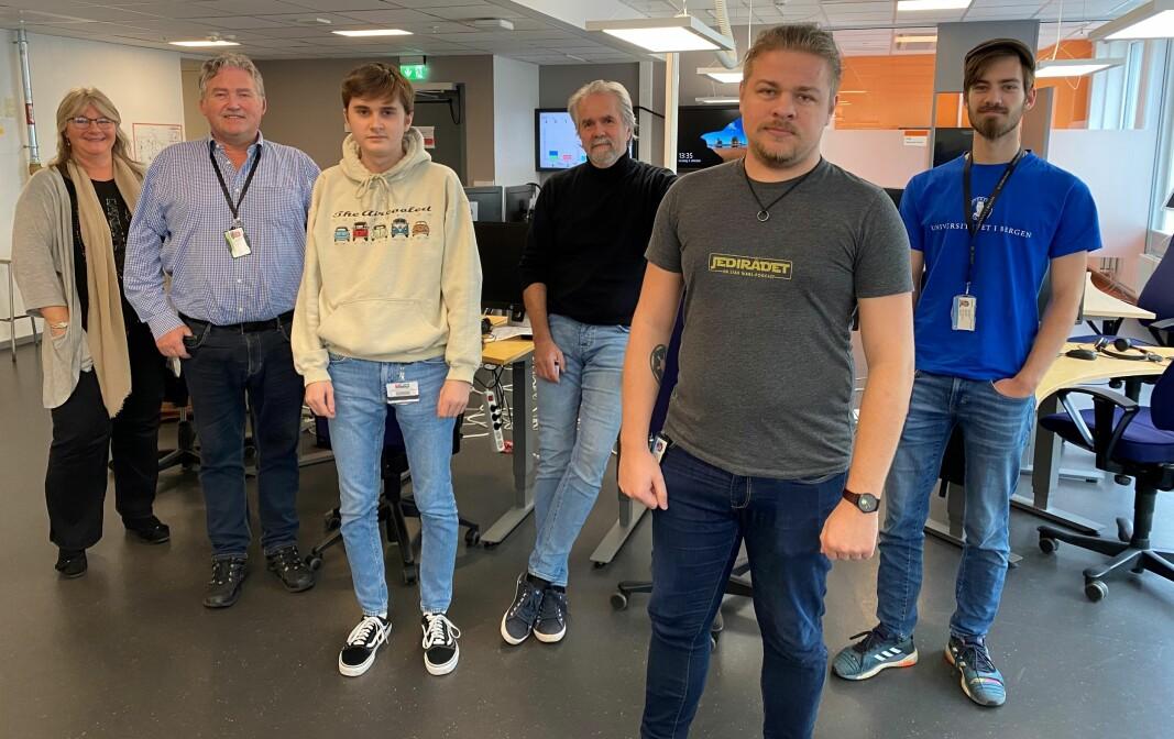 Noen av de ansatte på BRITA: Gunn Knutsen, Geir Hansen, Tobias Gelin, Jon Steine, Håkon Øren, Karelius Steen Knudsen