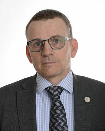 Helge Dahle, dekan ved Det matematisk-naturvitenskapelige fakultet.