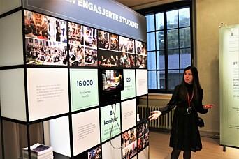 - Det har vært veldig interessant å samarbeide med studentene om denne utstillingen, sier kurator Åshild S.F. Thorsen.