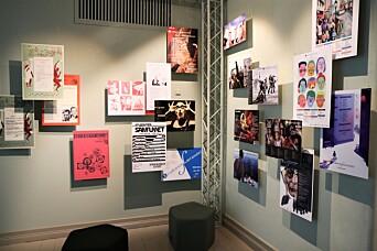 Utstillingen er åpen for publikum fra 21. oktober - og gratis for studenter ved UiB og HVL, samt de som har medlemskap i Studentersamfunnet.