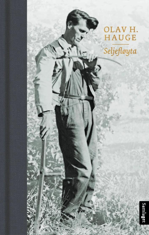 Omslag av diktsamlinga «Seljefløyta», utgitt av Samlaget 2018, med dikt henta frå det opphavleg refuserte diktmanuset frå 1930-talet, eit manus som er bevart ved Manuskript- og librarsamlingen ved UBB.