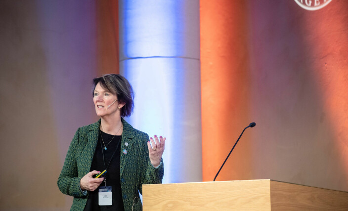 - Nå er tiden kommet for handling. På konferansen samler vi beslutningstakere og fagpersoner, for å bidra til nettopp det, sier OSB-leder Lise Øvreås. Her fra fjorårets OSB-konferanse.