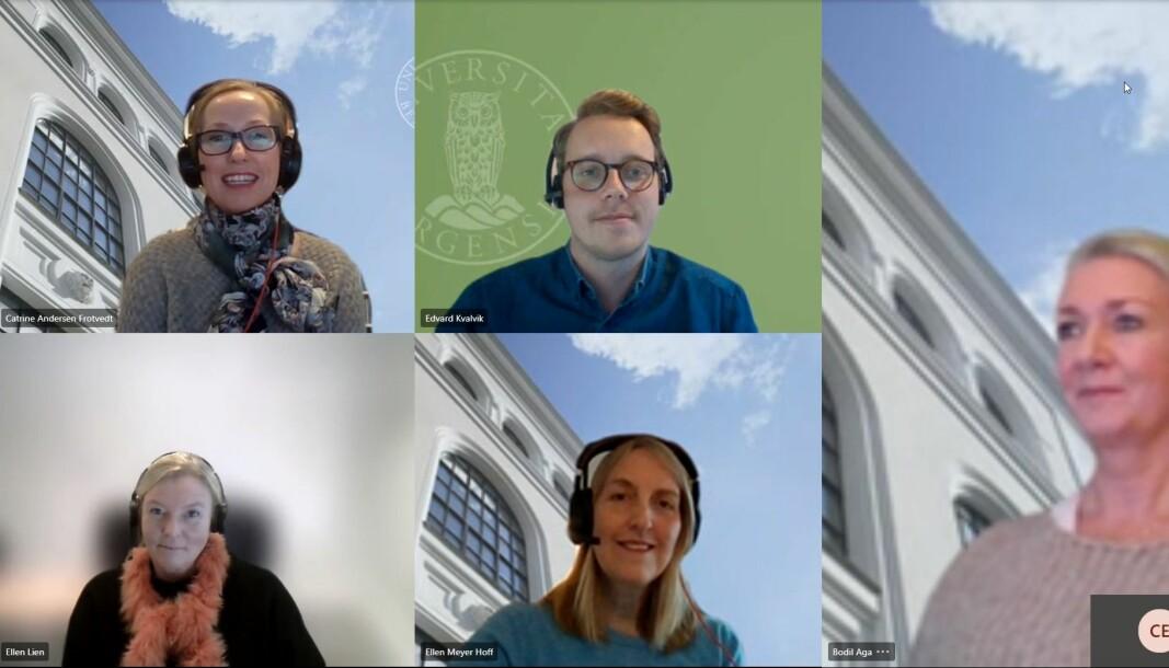 Smittesporingsteamet ved Studieavdelingen har en sentral rolle når UiB sporer smitte i samarbeid med Bergen kommune