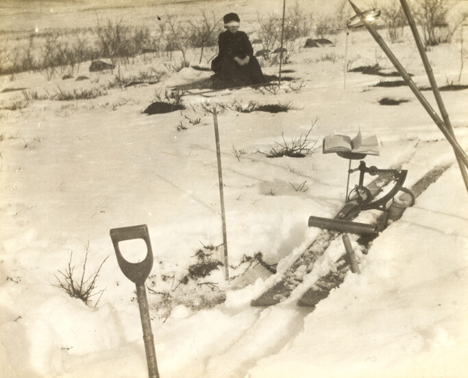 Feltstudie frå Vittangivarre, 20. april 1912