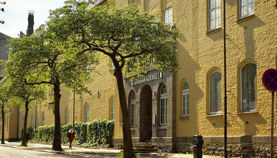 Griegakademiet holder i dag til i gamle Nygård barneskole