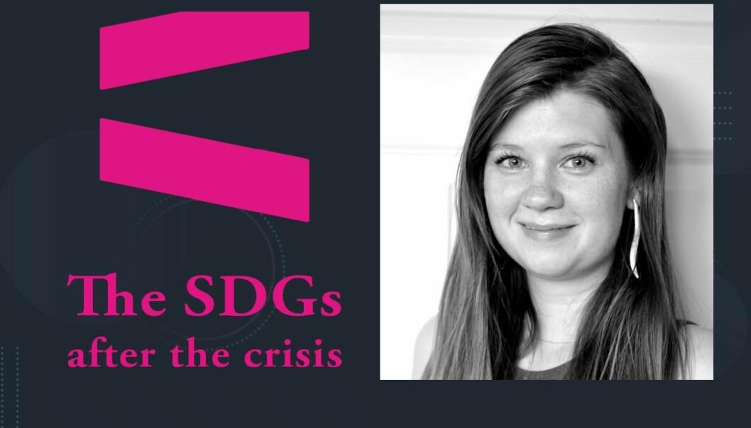 ULIKHET PÅ DAGSORDEN: Økende forskjeller vil være det sentrale temaet for ordskiftet på den nasjonale bærekraftskonferansen i Bergen, der Sofie Høgestøl er moderator.Click to add image caption