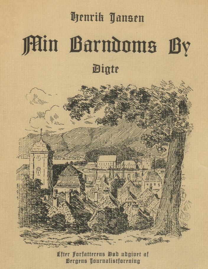 Boken som Bergens Journalistforening ga ut rett etter Jansens død for å hjelpe familien økonomisk.