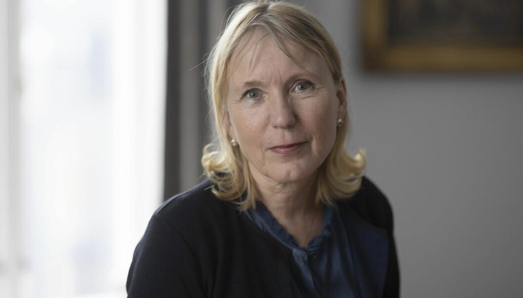 Rektor og rektorkandidat Margareth Hagen.