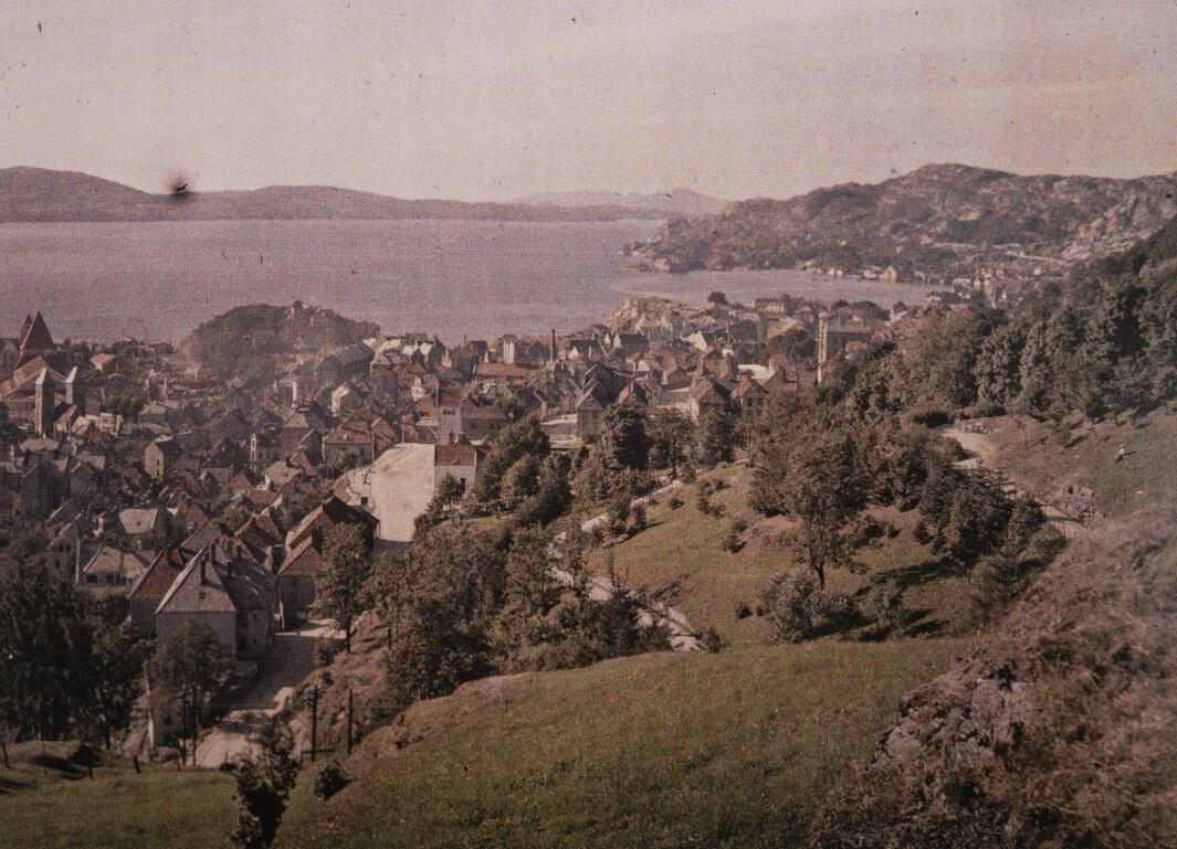 «Bergen, 15. august 1910.»