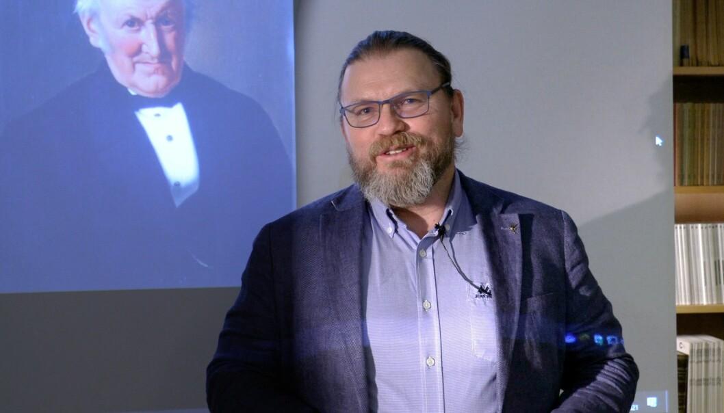 Universitetsbibliotekar Bjørn-Arvid Bagge forteller enda en historie fra Spesialsamlingene ved Universitetsbiblioteket.
