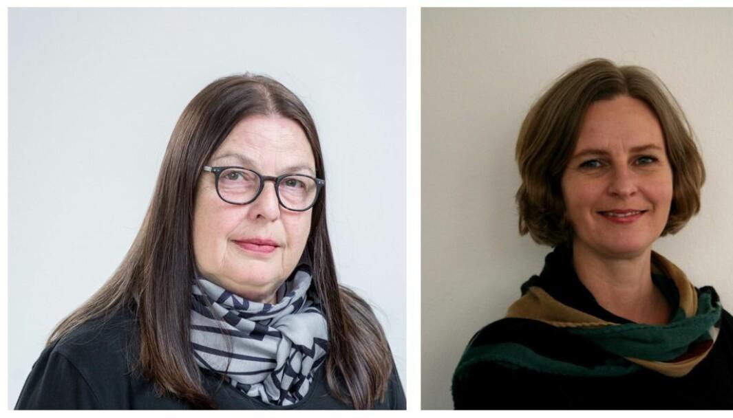 Kariane Therese Gärtner Westrheim og Astrid Tolo