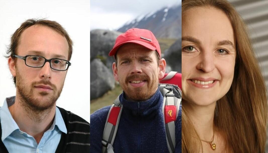 Martin Fernø, Atle Rotevatn og Bodil Holst