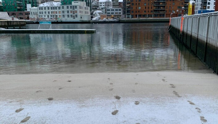 Litt kaldt vatn?