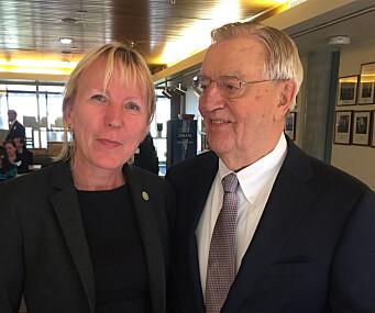 Margareth Hagen og Walter Mondale