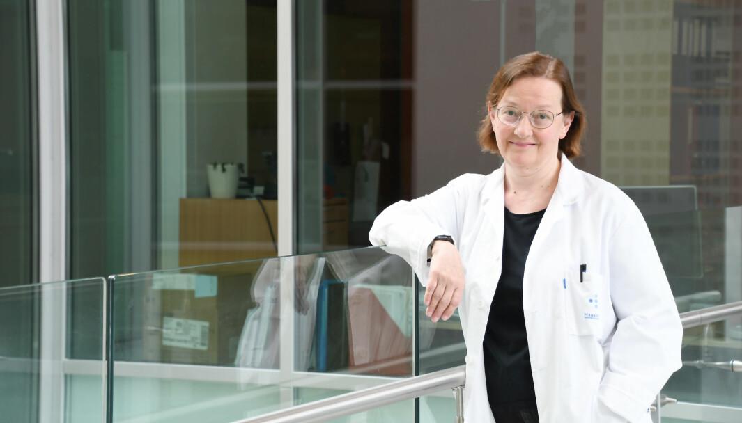 Professor Nina Langeland er Koronakommisjonens eneste medlem med infeksjonsmedisinsk bakgrunn.