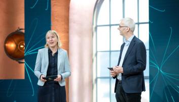 Rektor ved UiB Margareth Hagen åpnet Christiekonferansen 2021 sammen med rektor ved NHH Øystein Thøgersen