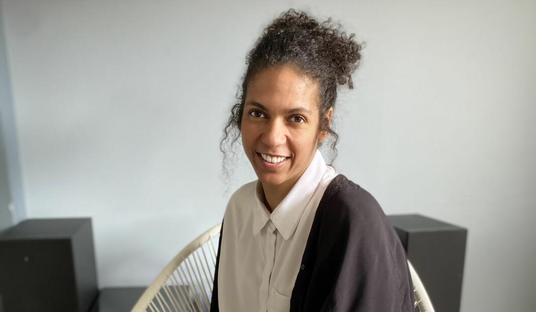 """Adriana Alves er kurator for KMDs masterutstilling i kunst 2021, """"A little larger than the universe""""."""