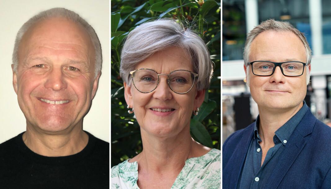 Knut Helland, Anne Lise Fimreite og Bjørn Enge Bertelsen