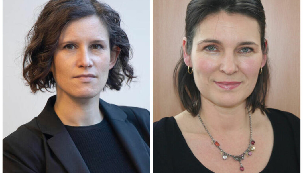 Kristine Jørgensen og Marit Skivenes er representanter for fakultetsstyret ved SV-fakultetet.