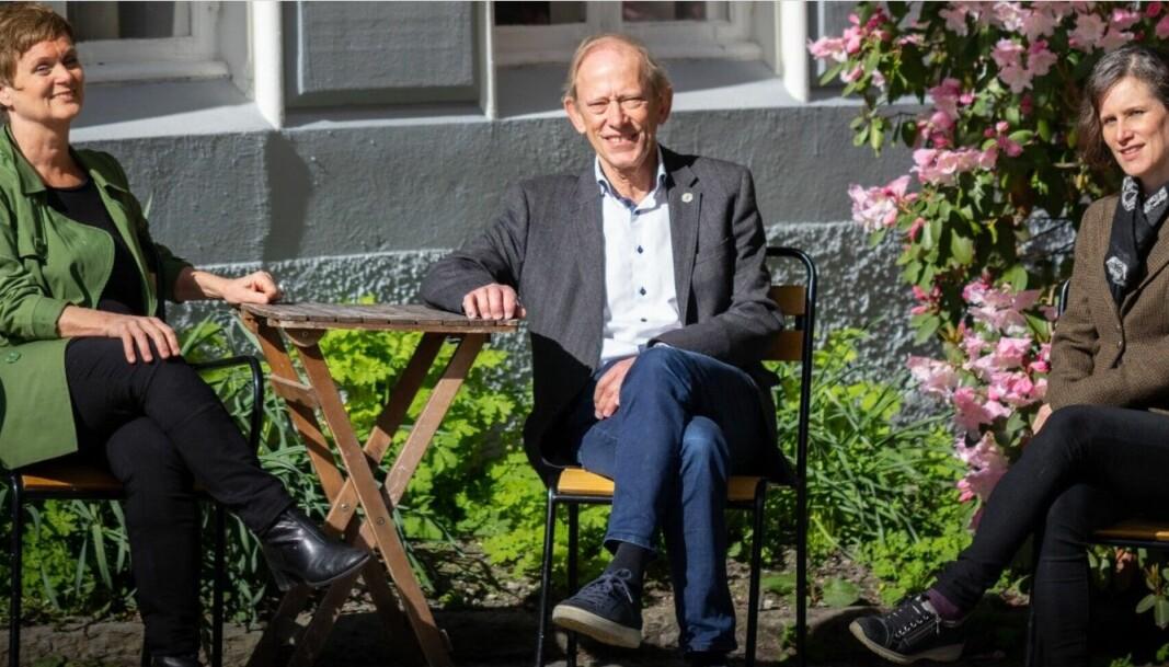 Siri Gloppen, Jan Erik Askildsen og Kristine Jørgensen