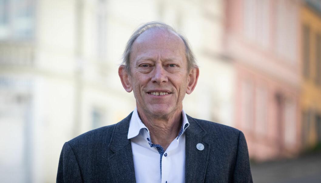 Jan Erik Askildsen, dekan ved Det samfunnsvitenskapelige fakultet