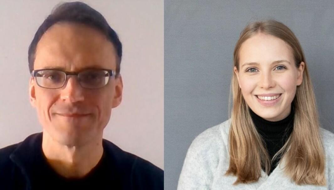 Hans Steinsland og Cora Møller Jensen er blandt de som har fått tildelinger gjennom UiB idé til å teste ut sine oppfinnelser.