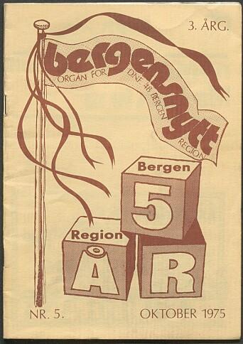 I 1975 markerte DNF-48s regionslag i Bergen sitt 5-års jubileum.