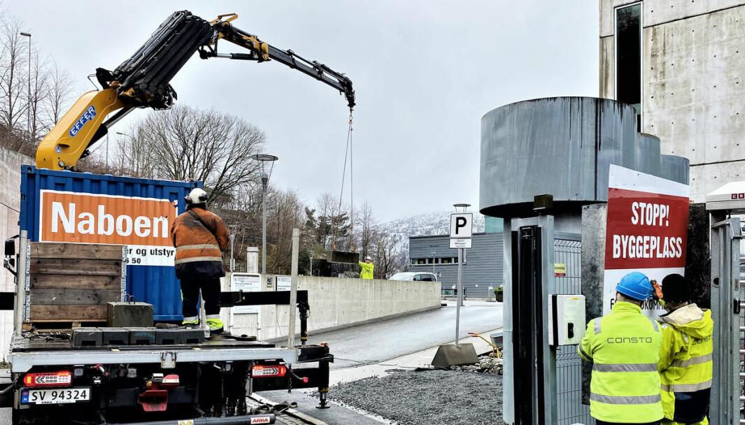 UiB var byggherre på tre store byggeprosjekter i 2020, som har blitt kontrollert.