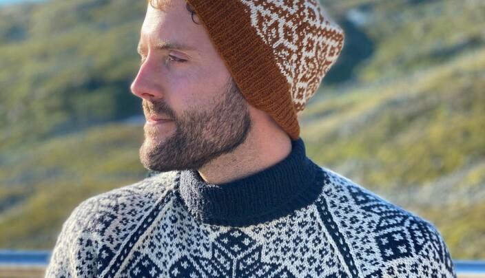 Birger Berge er ein av Noregs mest populære mønsterskaparar.