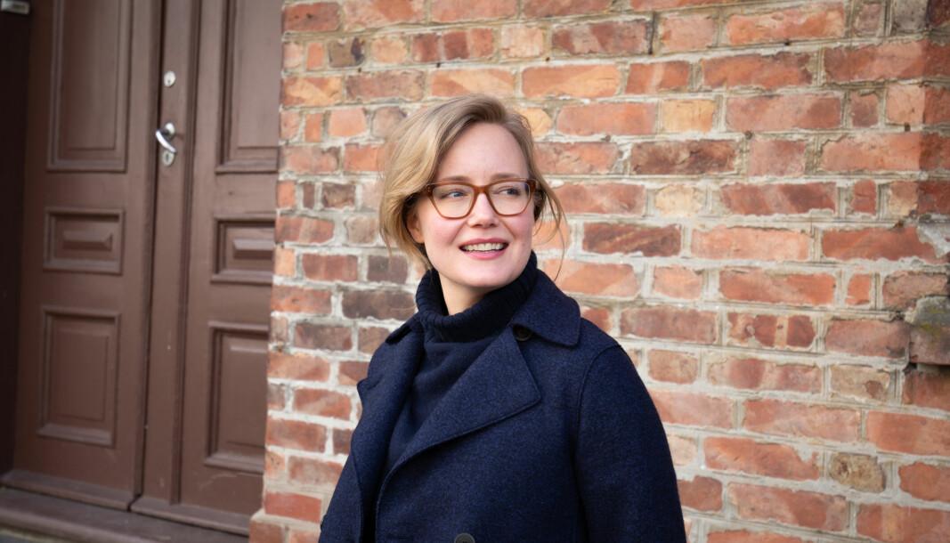 Festivalsjef og sjukeheimspsykolog Anna Helle-Valle.