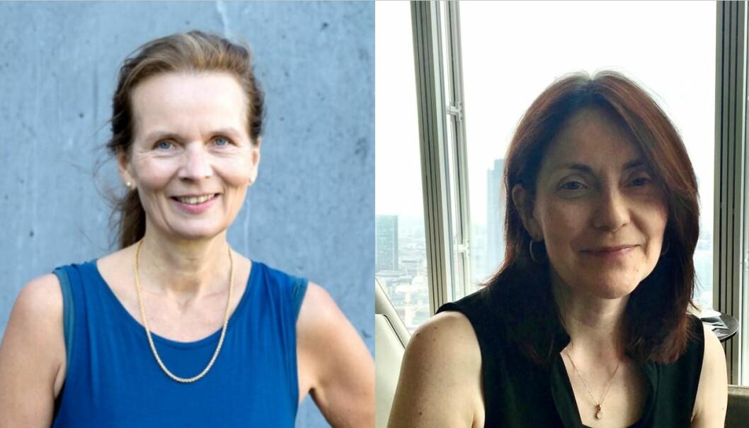 Margery Skagen og Jill Halstead er med å arrangere aldringsfestivalen Siste kapittel.