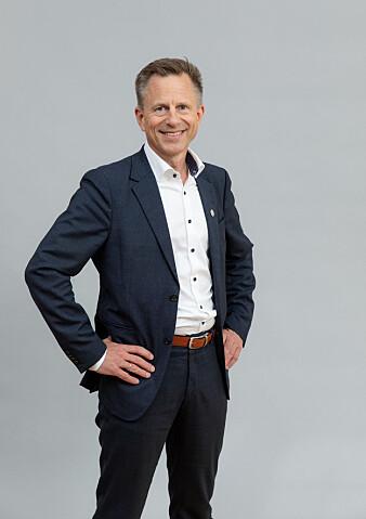 Universitetsdirektør Robert Rastad