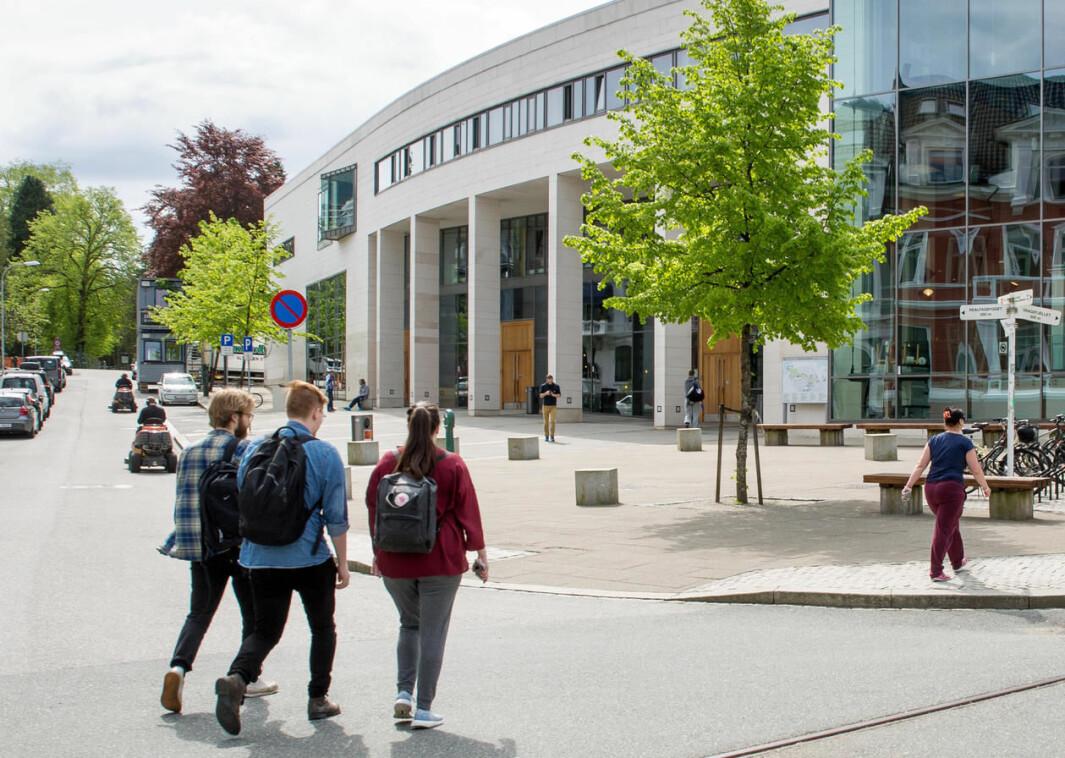 Høsten 2021 legges det opp til mer fysisk tilstedeværelse på campus
