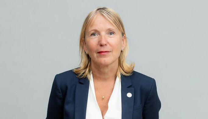 Rektor Margareth Hagen.