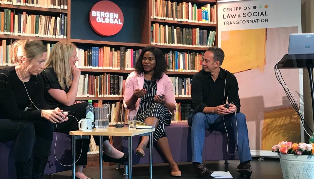 Panel under en tidligere utgave av Bergen Exchanges.