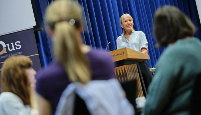 Rektor Margareth Hagen sier at universitetsalliansen er spesiell for UiB.