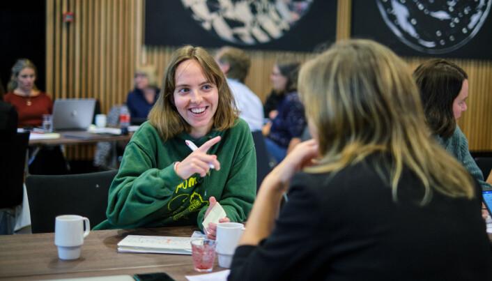 Lea Westad studerer sammenliknende politikk, og deltok på Vinterskolen i høst.
