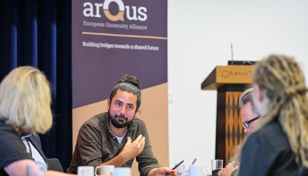 Rundt 60 ansatte på UiB er involverte i Arqus.