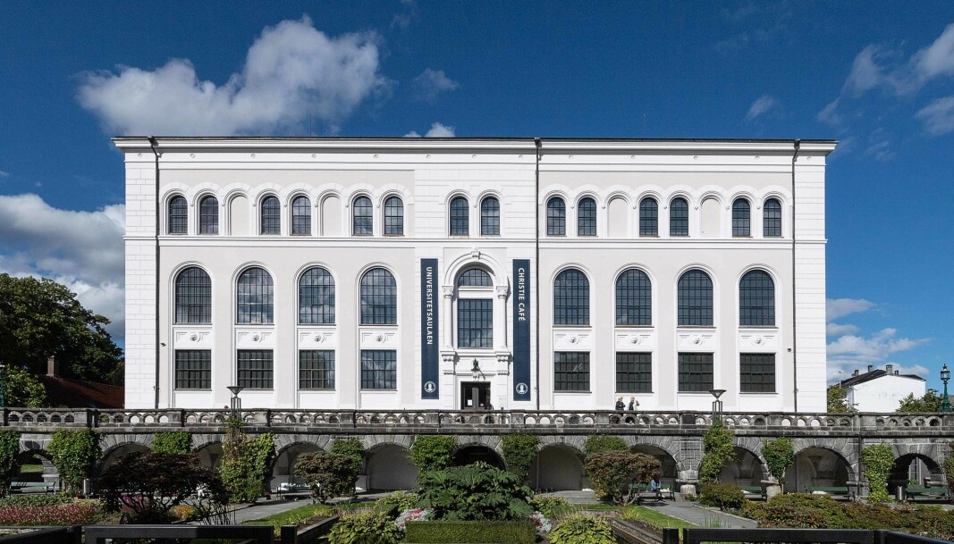 Universitetet i Bergens storstue, Aulaen.