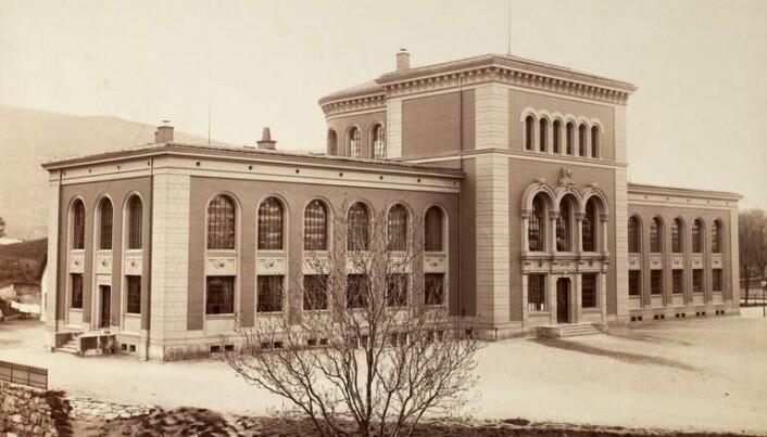 Universitetet i Bergen har røtter tilbake til etableringen av Bergens Museum i 1825. Det var her Fridtjof Nansen fikk seg jobb høsten 1882. Foto: Marcus Selmer.