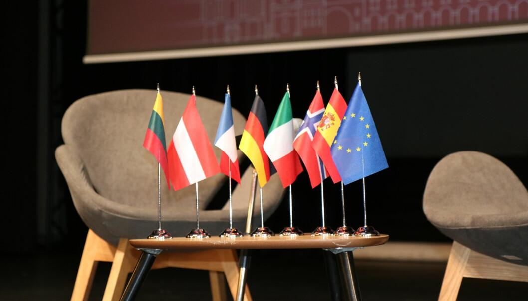 Studenter, ansatte og toppledelse fra Arqus-alliansens syv universiteter er samlet i Vilnius denne uken.