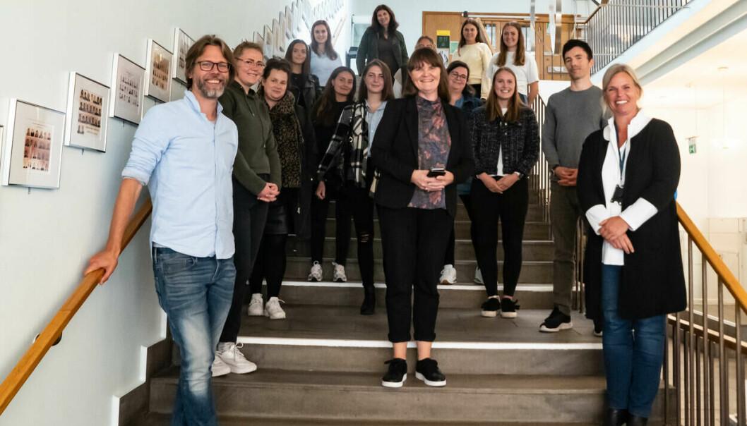 Glad gjeng ved oppstart av ny master i spesialpedagogikk ved Det psykologiske fakultet, høsten 2021.